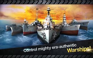 Warship Battle: 3D World War II скриншот 2
