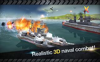 Warship Battle: 3D World War II скриншот 4