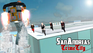 San Andreas Crime City скриншот 1
