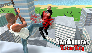 San Andreas Crime City скриншот 2