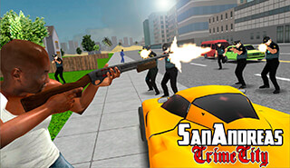 San Andreas Crime City скриншот 3