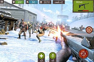 Zombie Call: Trigger Shooter скриншот 1