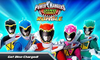 Power Rangers: Dino Rumble скриншот 1