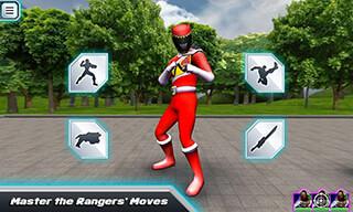 Power Rangers: Dino Rumble скриншот 2