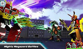 Power Rangers: Dino Rumble скриншот 4