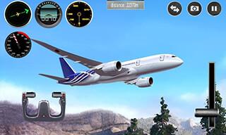 Plane Simulator 3D скриншот 1