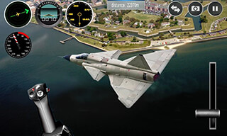 Plane Simulator 3D скриншот 2