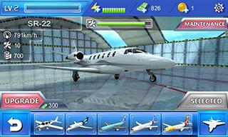 Plane Simulator 3D скриншот 3