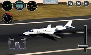 Plane Simulator 3D скриншот 4