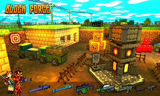 Block Force: Cops N Robbers скриншот 1