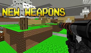 Pixel Combat Multiplayer HD скриншот 1