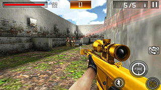 Shoot War: Professional Striker скриншот 1