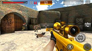 Shoot War: Professional Striker скриншот 3