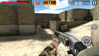 Shoot War: Professional Striker скриншот 4
