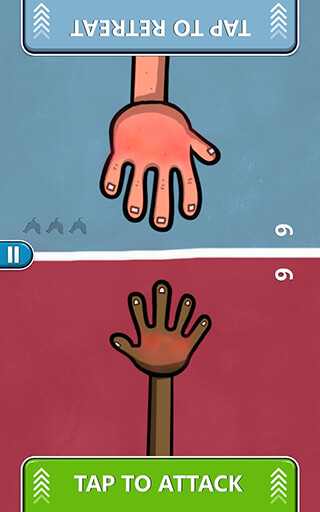 Red Hands: 2-Player Games скриншот 1
