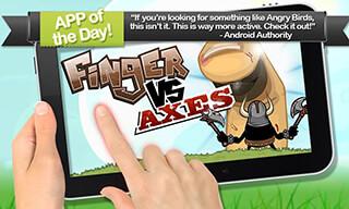 Finger vs Axes скриншот 1