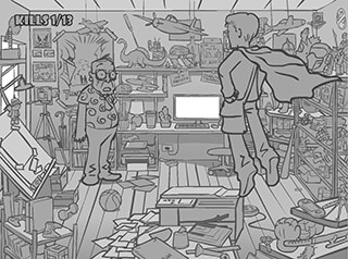 Whack Your Boss: Superhero скриншот 3