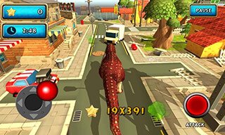 Dinosaur Simulator: Dino World скриншот 2