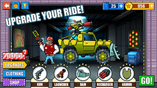 Mad Day: Truck Distance Game скриншот 1