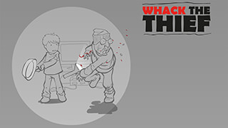 Whack The Thief скриншот 1