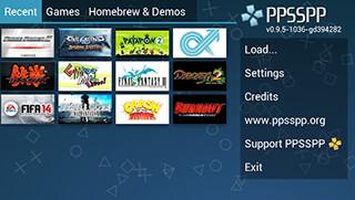 PPSSPP: PSP Emulator скриншот 1