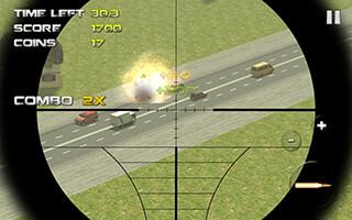 Sniper: Traffic Hunter скриншот 2