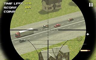 Sniper: Traffic Hunter скриншот 3