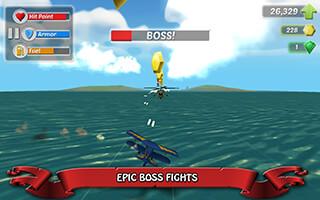 Wings on Fire: Endless Flight скриншот 3