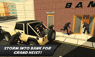 Bank Robbery Crime LA Police скриншот 2
