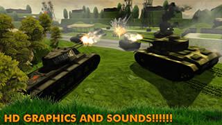 Battlefield Tanks Blitz скриншот 1