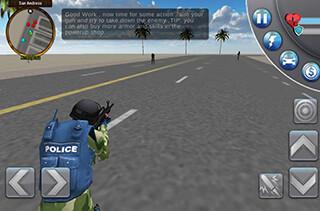 San Andreas Crime City 3D скриншот 3