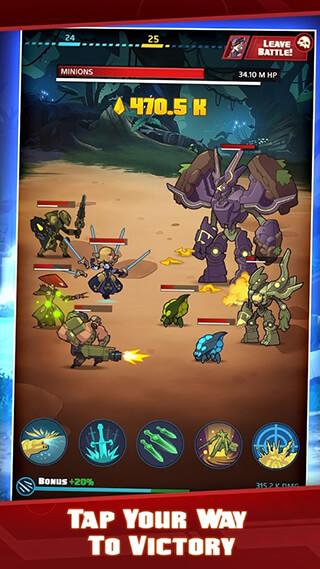 Battleborn Tap скриншот 2