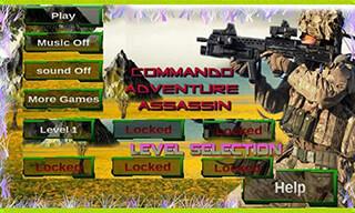 Commando: Adventure Assassin скриншот 1