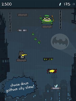 Doodle Jump: DC Super Heroes скриншот 1