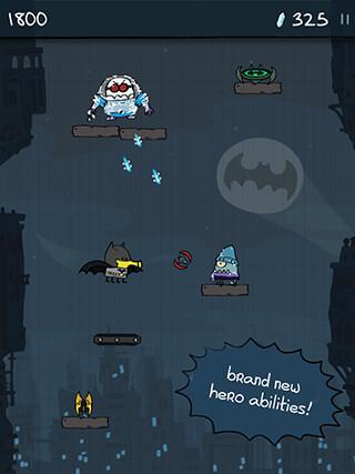 Doodle Jump: DC Super Heroes скриншот 2