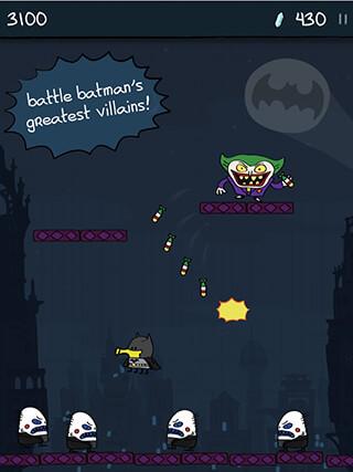 Doodle Jump: DC Super Heroes скриншот 4