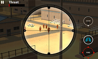 Sniper Duty: Prison Yard скриншот 2