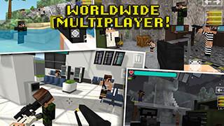 Block Gun 3D: Ghost Ops скриншот 1