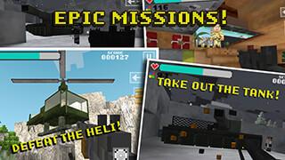 Block Gun 3D: Ghost Ops скриншот 2
