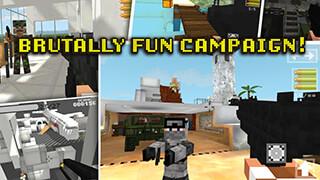 Block Gun 3D: Ghost Ops скриншот 3