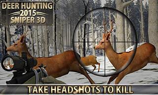 Deer Hunting 2015: Sniper 3D скриншот 1