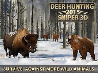 Deer Hunting 2015: Sniper 3D скриншот 2