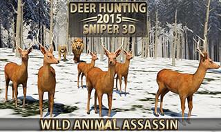 Deer Hunting 2015: Sniper 3D скриншот 3