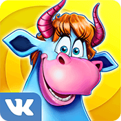 Весёлая ферма для ВКонтакте иконка