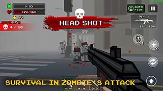 Pixel Z Gunner скриншот 2