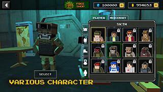 Pixel Z Gunner скриншот 4
