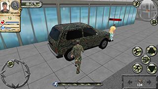 Army Car Driver скриншот 1