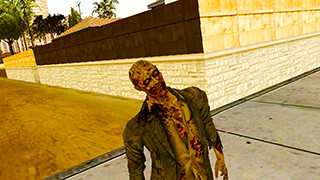 Zombies in San Andreas скриншот 1