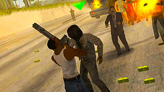 Zombies in San Andreas скриншот 2