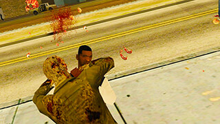 Zombies in San Andreas скриншот 3